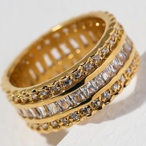 New Vanessa Mooney the grace ring gold